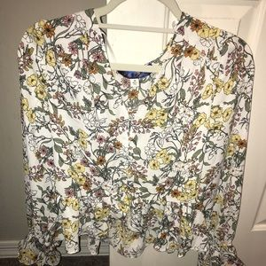 Brand new with tags floral blouse